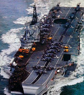 HMS Hermes is retired