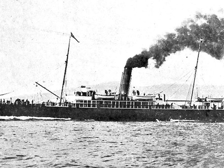 Collison of the Connemara and Retriever  – 3rd November 1916 - 97 Souls Lost #maritimehistory #OTD