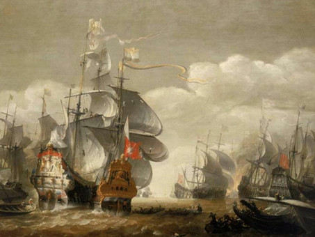 Battle of Lowestoft - Leading to the formation of the Dutch Marines
