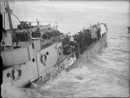 Landing Craft Support Squadron - Operation Infatuate