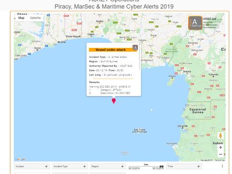 MDAT GoG - Vessel Under Attack Gulf of Guinea #piracy