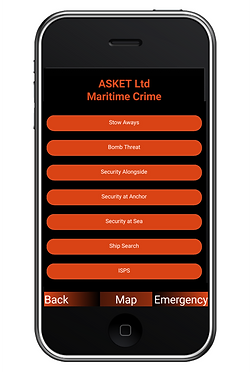 ASKET MarSec Maritime Security App - Mar