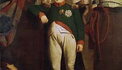 Napoleon Buonaparte Inspects the Royal Marine Guard