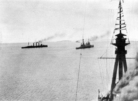 The Battle of the Falklands 8th December 1914