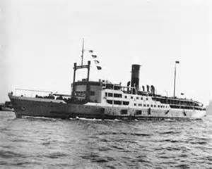 4 December 1948 - SS Kiangya (Jiangya) at least 2,750 souls lost  #maritimehistory #OTD