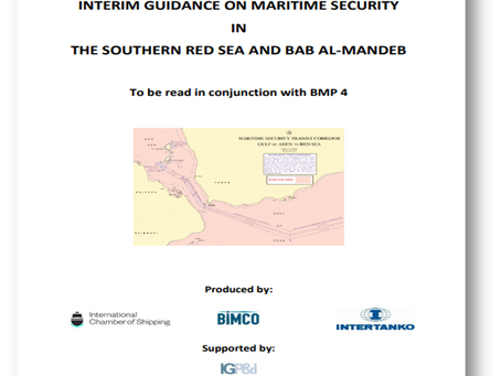 Interim Guidance on Maritme Security in The Southern Red Sea and Bab Al-Mandeb