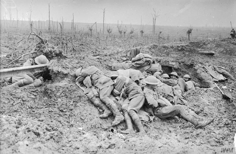 Ypres-Breakfast at Babs-The_Battle_of_Passchendaele,_July-november_1917_IWM-E941
