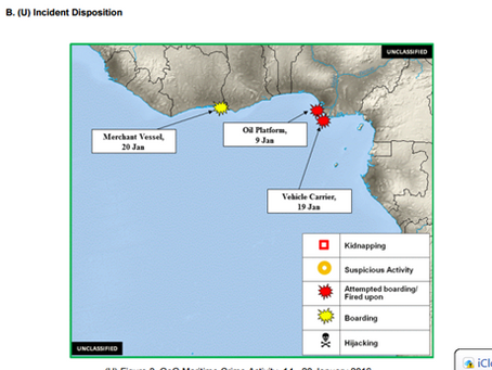 ONI West Africa Incident Reports