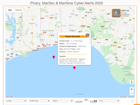 MDAT GoG - Vessel Possible Boarded by Pirates #piracy