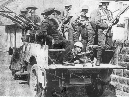 Marines deploy to Ireland- June 1920