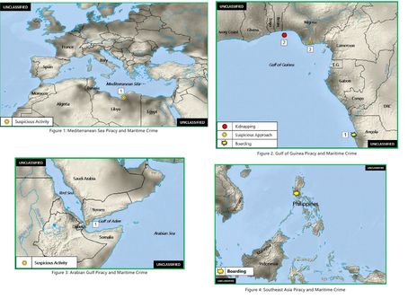 Office of Naval Intelligence ONI - Worldwide Threat to Shipping (WTS) Report