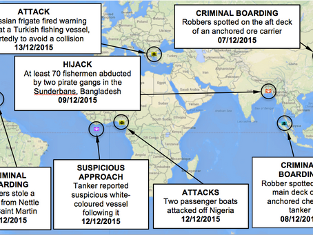 ASKET Ltd Weekly Maritime Security and Piracy News and Update Number 27, 17th December 2015