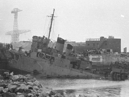 """Operation Chariot"" - St Nazaire Raid - 28th March 1942 #RoyalMarines"