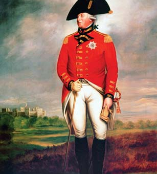 The Corps of Marines titled the Royal Marines by King George III