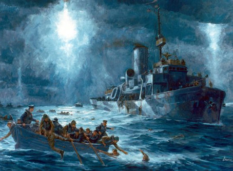 Heroism of four Chaplains on U.S.A.T. Dorchester