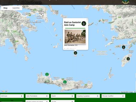 SBS - Raid on Santorini Axis Camp