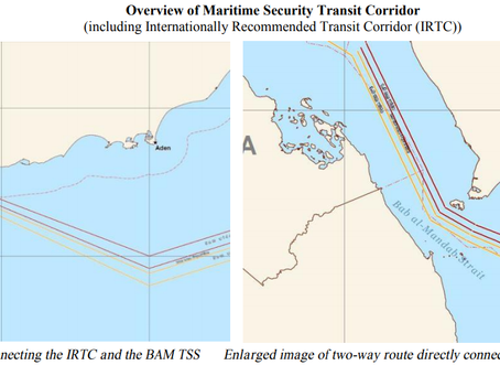Republic of the Marshall Islands Advisory - CMF Guidance on the Maritime Security Corridor #piracy #