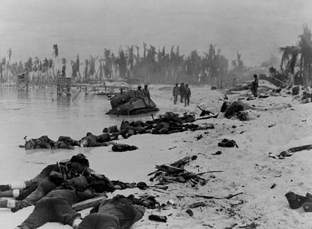 The U.S. Marines begin their assault on 'Bloody Tarawa' - 20th November 1943 @USMC