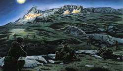 Battle for the Falklands - The Battle for Mount Harriet - 42 Cdo RM - 11/12 June 1982