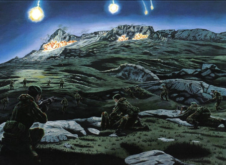 Battle for the Falklands - The Battle for Mount Harriet - 42 Cdo RM - 11/12 June 1982