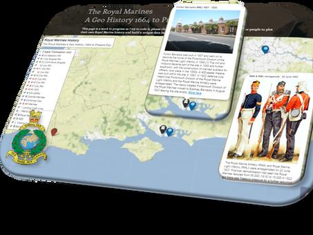 The Royal Marines a Geo - History 1664 - Present - Amalgamation of the RMLI and RMA 1923