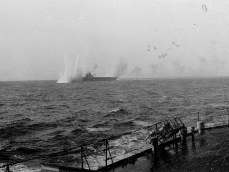 Fight for survival - The Stuka bombing of HMS Illustrious