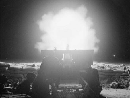 1,000 British Guns open up at El Alamein