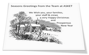 ASKET Christmas Card
