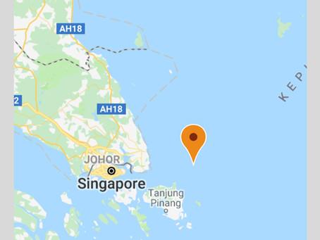 IMB ICC - Robbery at Anchor, Tanjung Berakit, Pulau Bintan, IndonesiaI #marsec #piracy