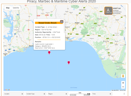 MDAT GoG - Vessel Attacked & Boarded by Pirates #piracy