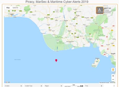 IMB ICC - Bulk Carrier chased and fired upon underway - Nigeria @IMB_Piracy  #piracy #marsec