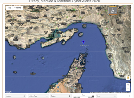UKMTO Notice -  Gulf Region - Straits of Hormuz - BMP 5 - Use of AIS