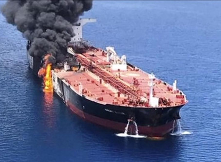 2 Tankers Attacked in Iranian waters east of Fujairah #terrorism #marsec