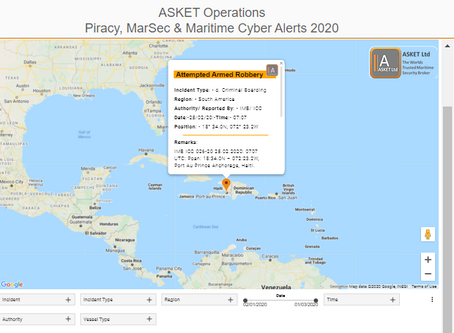 Suspicious Approach in the IRTC #piracy #marsec