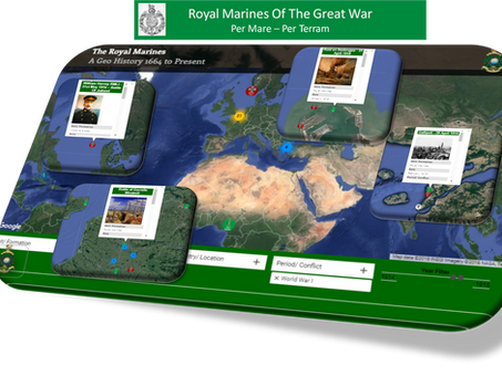The Royal Marines in World War One - RM a Geo History