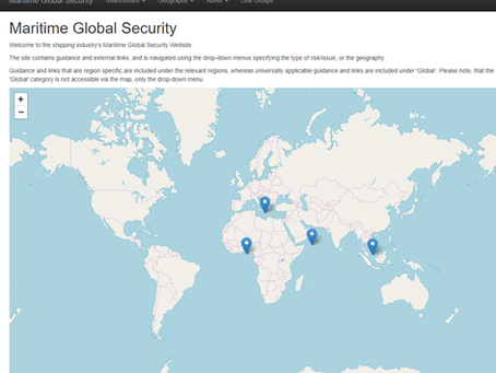 New Maritime Global Security Website #marsec #piracy #maritimesecurity