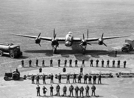 Bombing Run - War Correspondents fly with the Lancaster's of Bomber Command