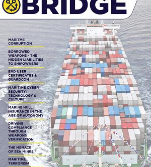 Link to 'theBridge' - Independent Maritime Security Magazine #marsec #piracy