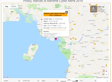 MDAT GoG - Vessel Under Attack Douala Port Cameroon - Crew taken #piracy #marsec