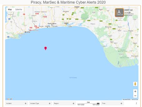 MDAT GoG - Vessel Boarded Gulf of Guinea #piracy