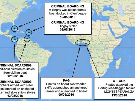 NYA Weekly Piracy Chart
