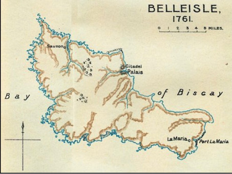 TheBattleofBelle Isle-7 June 1761