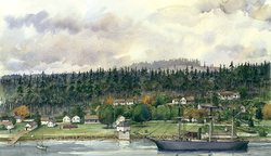 Joint Occupation of San Juan Island with the USMC