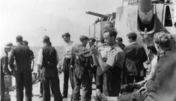 HMS Penelope Sunk off Anzio