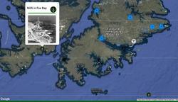 NGS in Fox Bay - SBS and 148 Bty