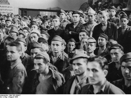 Wartime Berlin – an international city, underground