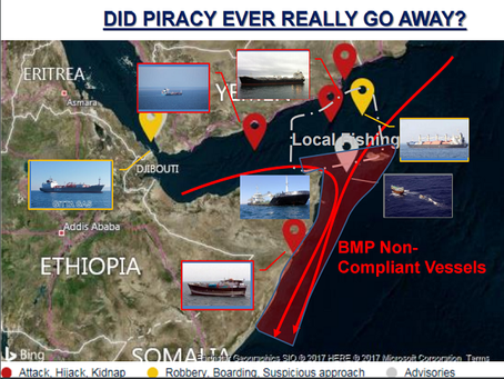 UKMTO MIEVOM - Record of Discussion & Presentations #UKMTO #Piracy #Marsec