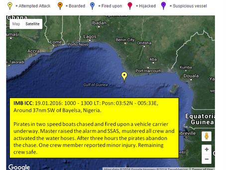 ALERT - IMB ICC - Ro-Ro Attacked in West Africa