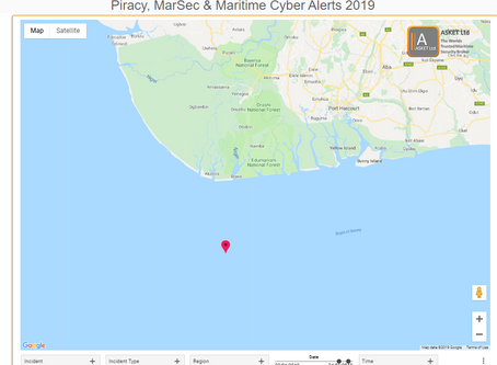 IMB ICC - Product tanker was fired upon while underway - Nigeria @IMB_Piracy  #piracy #marsec