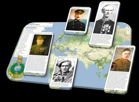 The Royal Marines Projecting Power since 1664 - a Geo History